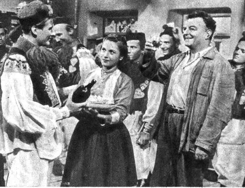 Slepice a kostelník (1950)