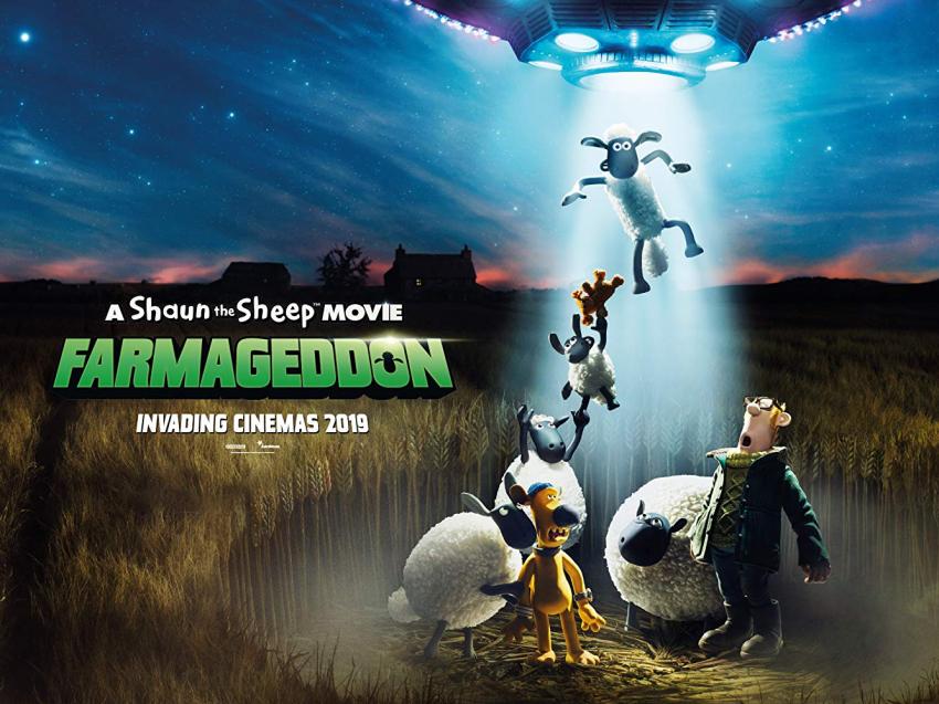 Ovečka Shaun ve filmu: Farmageddon (2019)