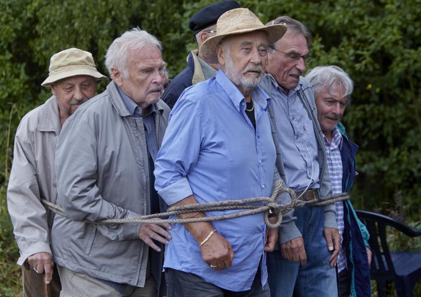 Oldřich Vlach, Luděk Munzar, Lepold Haverl, František Němec a Ladislav Mrkvička