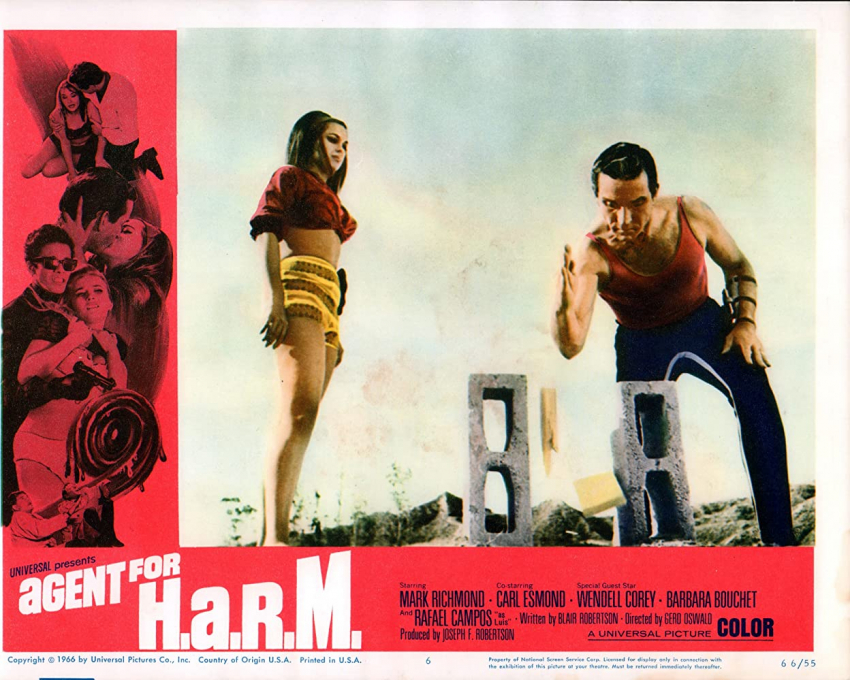 Agent for H.A.R.M. (1966)