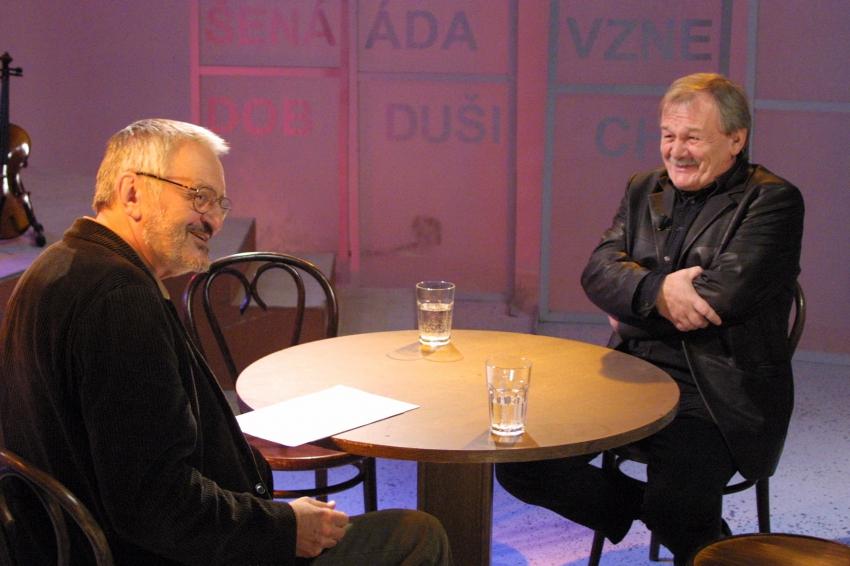 Milan Lasica a Karel Šíp