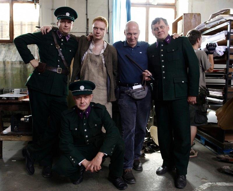 Jan Vondráček, Robert Nebřenský, Miroslav Hanuš, Jan Budař a  Petr Nikolaev