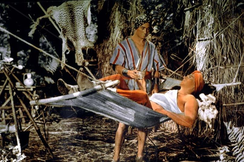 Dobrodružství v temné džungli (1954)