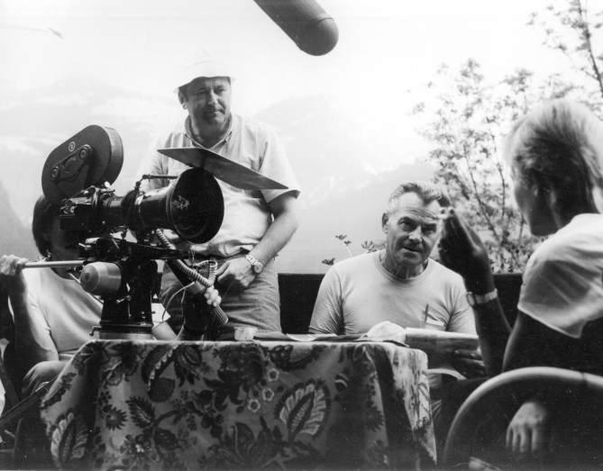 Snímek z natáčení