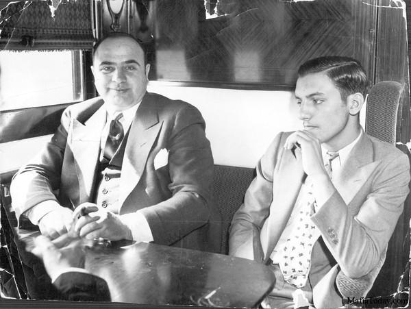 al capone and frank nitti