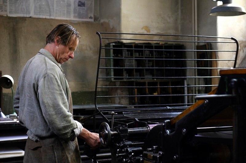 Karel Roden ve vězeňské tiskárně