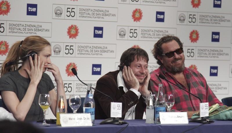 Marie-Josée Croze, Mathieu Amalric a  Julian Schnabel