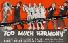 Too Much Harmony (1933)