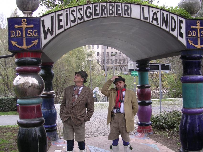 Rakousko: David Vávra a Milan Šteindler