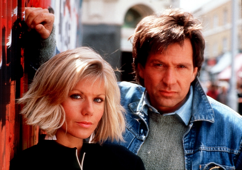 Michael Brandon a Glynis Barber