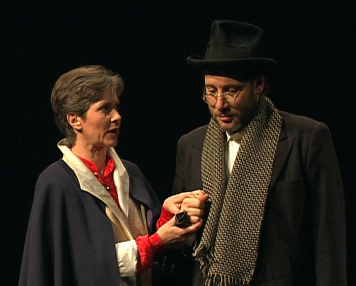 Marta Vančurová a Tomáš Töpfer