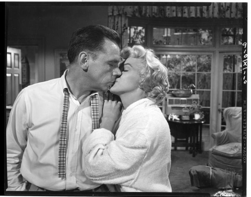 Slaměný vdovec (1955)