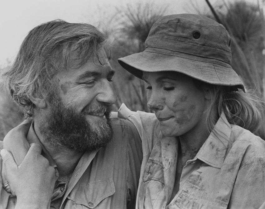 Nigel Davenport a Susan Hampshire