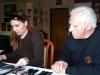 Výběr fotografií pro článek v Životu umělce s šéfredaktorkou Alexandrou Stuškovou