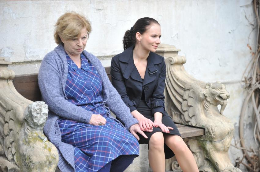 Libuše Švormová a Sandra Nováková