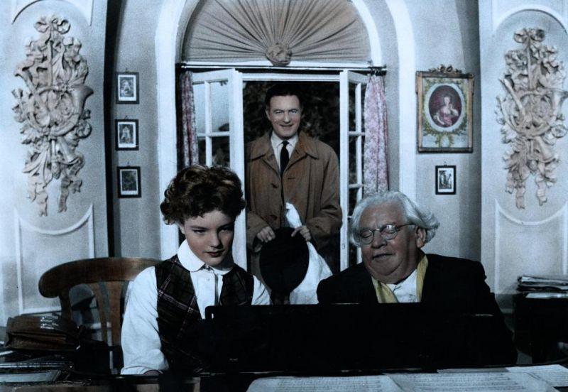 Romy Schneider, Willy Fritsch, Albert Florath