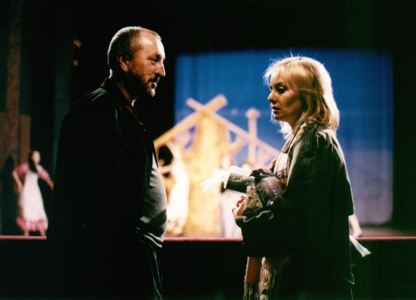 Oldřich Navrátil a Veronika Žilková