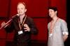Režisér Dome Karukoski a herec Olavi Uusivirta uvádějí film Zakázané ovoce (Finsko, Švédsko)