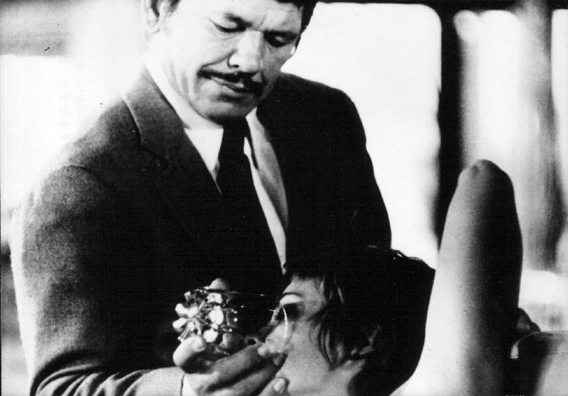Cestující v dešti (1969)
