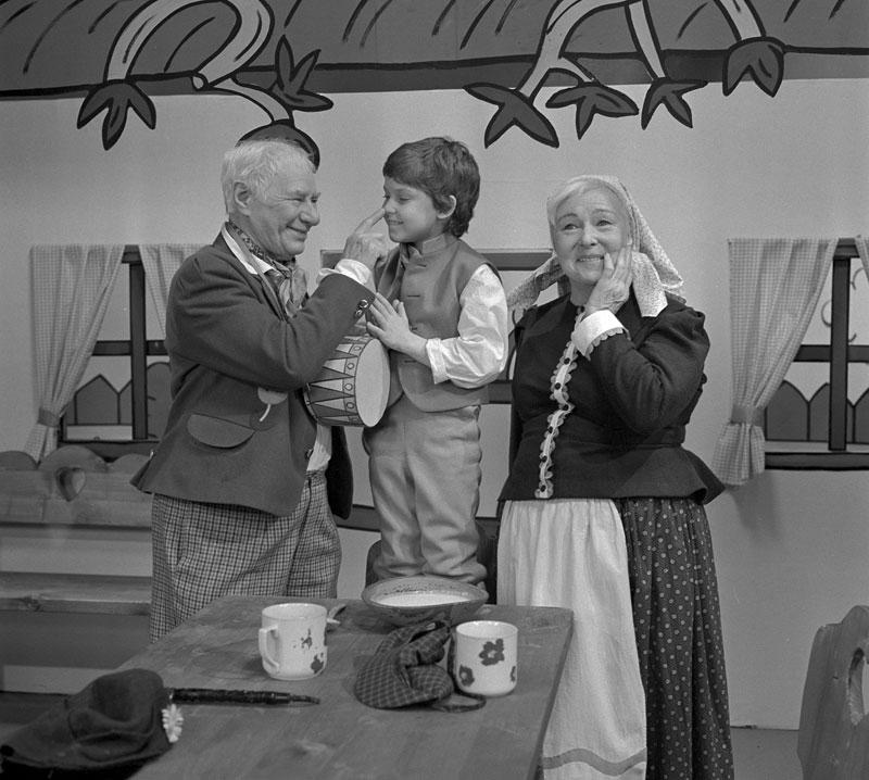 Ladislav Pešek, Jan Marvan a Vlasta Fabianová