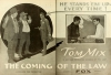 The Coming of the Law (1919)