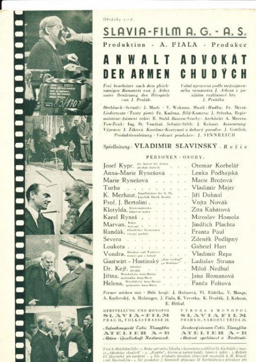 Advokát chudých (1941)