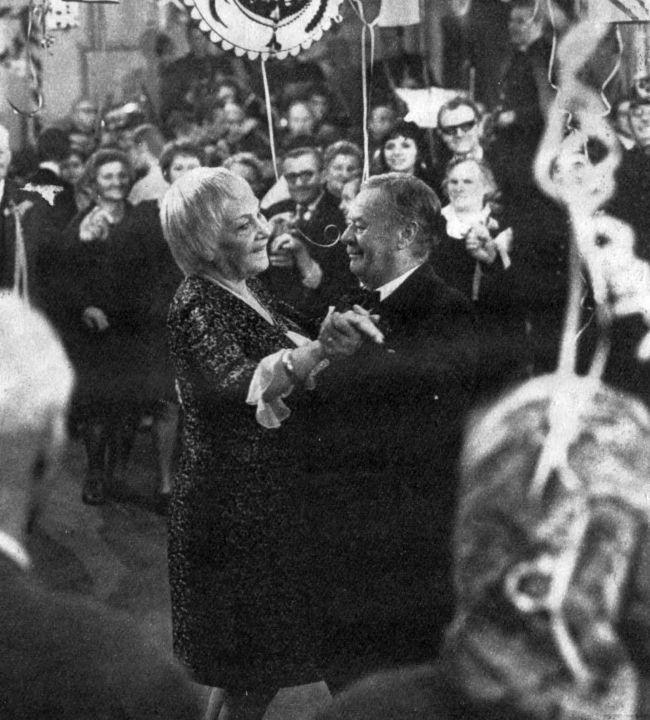 Jiřina Šejbalová a Bohuš Záhorský