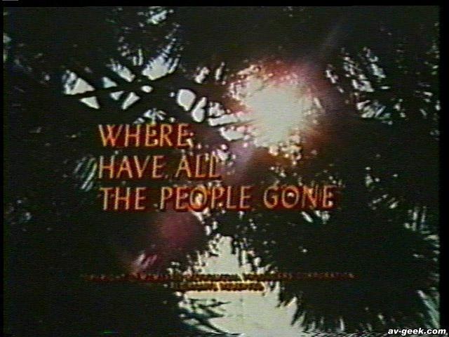 Kam zmizeli všichni lidé? (1974) [TV film]