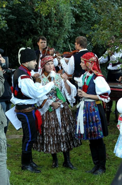 Snídaně s Novou na cestách - Slovácké slavnosti 9.9.2011