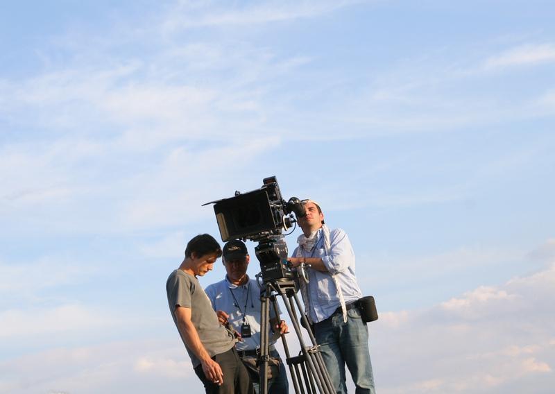 Natáčení v okolí Chcebuze