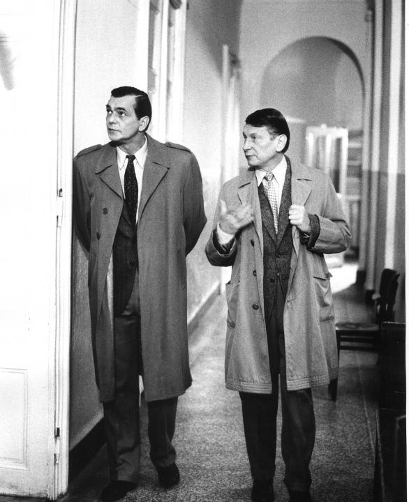 Jiří Bartoška a Josef Dvořák