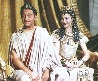 Ceasaire a Kleopatra - Claude Reins a Vivien Leigh