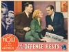 The Defense Rests (1934)
