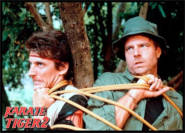 Karate tiger 2: Zuřící blesk (1987)
