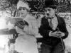 Chaplin v parku (1915)