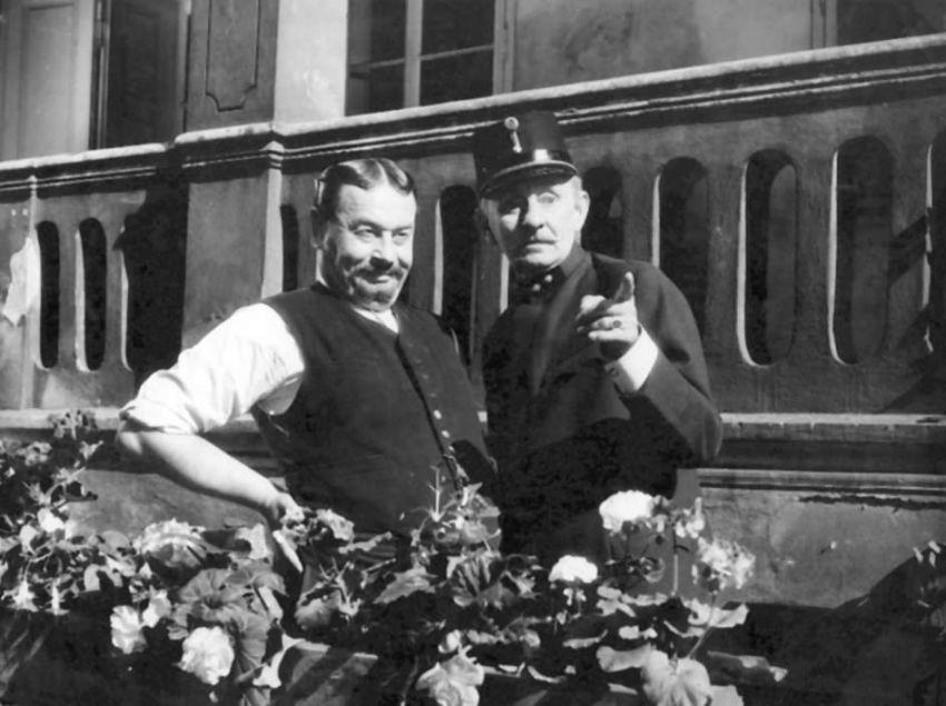 Josef Hlinomaz a Vlasta Burian