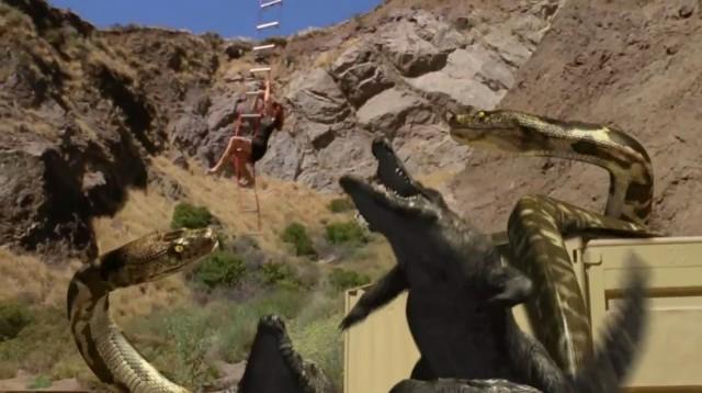 Megakrajta versus Gatoroid (2011) [TV film]