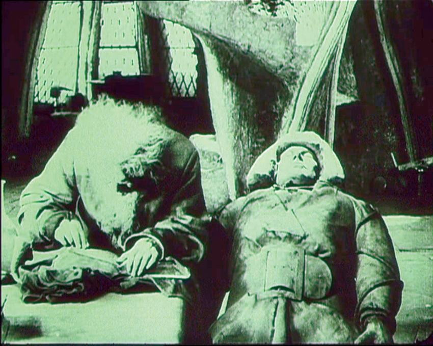Golem: jak přišel na svět (1920)
