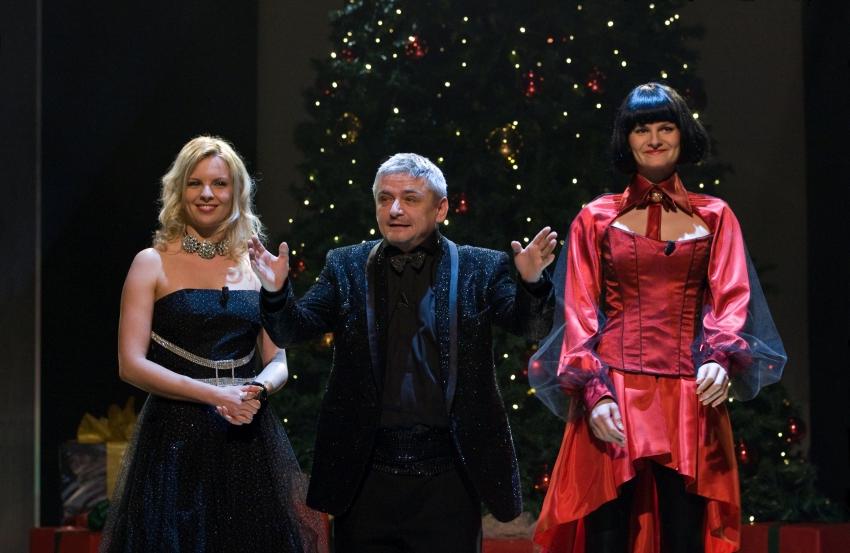 Kateřina Kristelová, Michal Suchánek a Iva Pazderková