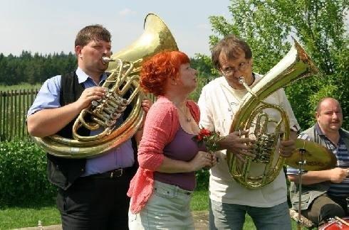 Barbora Štěpánová a Josef Náhlovský