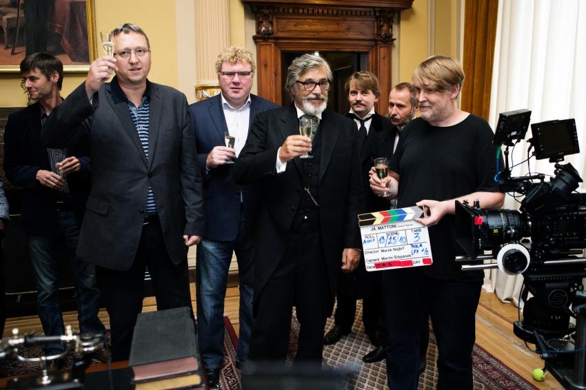 kreativní producent Jan Lekeš, manažer realizace Jaroslav Kučera, ředitel programu Milan Fridrich, Jiří Bartoška jako Heinrich von Mattoni a režisér Marek Najbrt