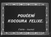Poučení Kocoura Felixe (1927)