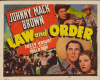 Law and Order (1940)