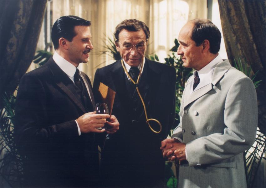 Jan Hrušínský, František Němec a Viktor Preiss
