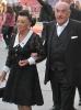 Artur Brauner se svou manželkou Marií v Berlíně; foto: Franz Richter, 2010