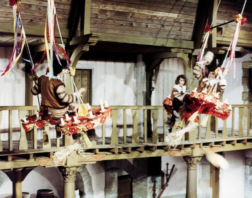 Čtyři sluhové a kardinál (1974)
