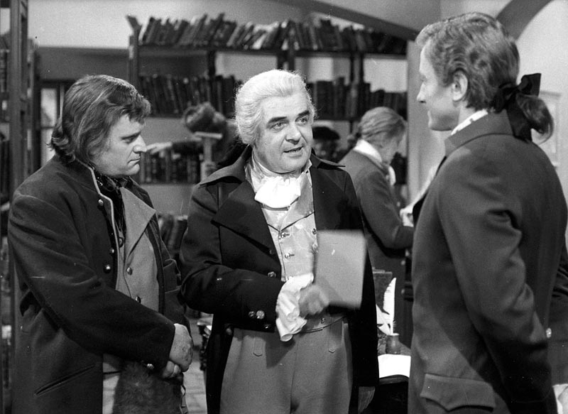 Ilja Prachař, Václav Voska a Radoslav Brzobohatý