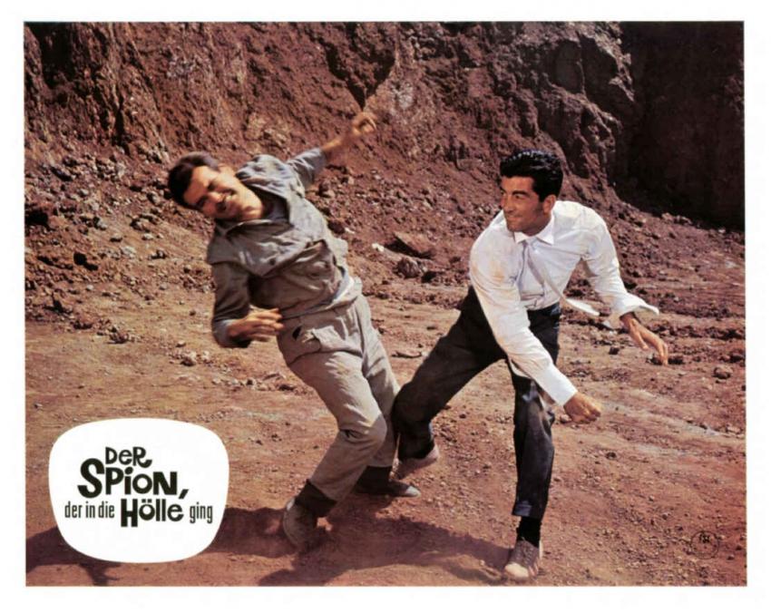 Corrida pro špióna (1966)