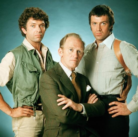 Martin Shaw, Gordon Jackson a Lewis Collins