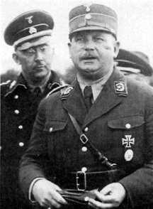 Heinrich Himmler a Ernst Röhm